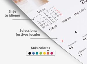 Calendario en catala - calendario en euskera - valencia