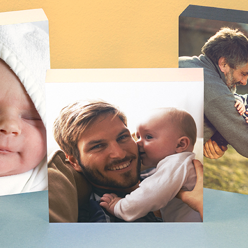 PhotoBox Photo Blocks Father's day