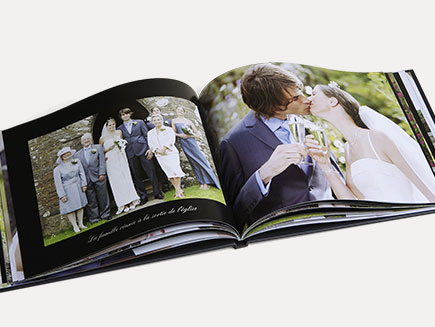 Crystal deluxe Wedding photo book
