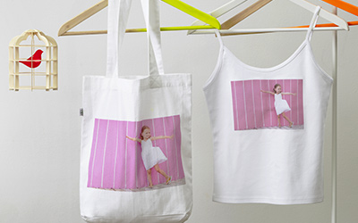 Personalised printed clothing and accessories