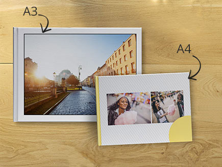 A4 and A4 Personalised Photo Books
