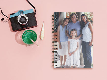 deluxe photo diary with camera