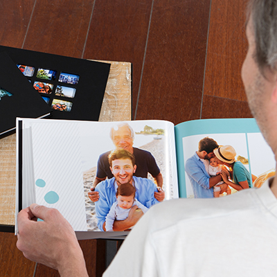 Top tips for creating a Father's Day Book
