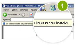 Sur Internet Explorer