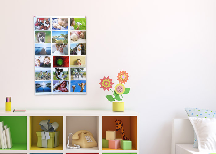Porte Photo Mural Plastique Porte-photo Mural