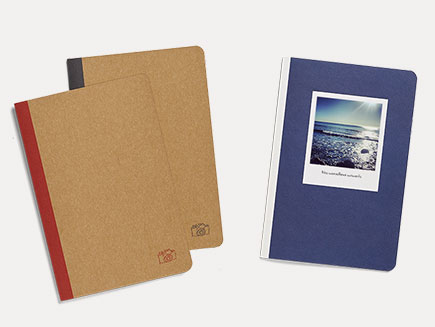 Different designs of photo journal