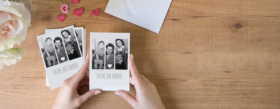 tarjetas con foto
