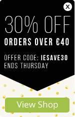 30% OFF orders over €40 – ends Thursday