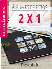Álbumes de Fotos 2 x 1