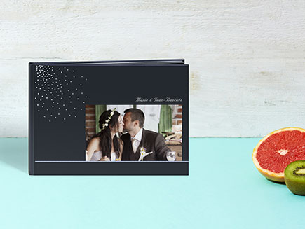 A4 Crystal deluxe photo book