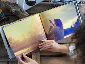 Fotos a doble página