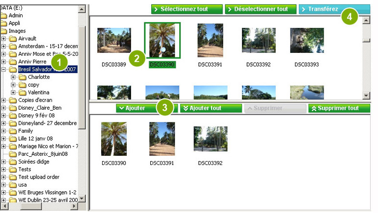 Sélection de vos photos
