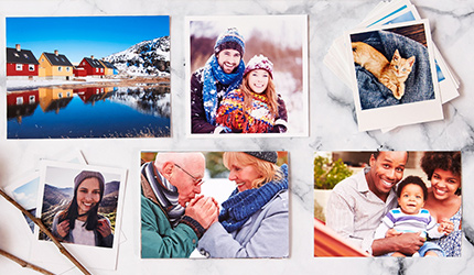 Quality photo print sizes
