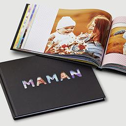 Livre Photo avec couverture découpée Maman