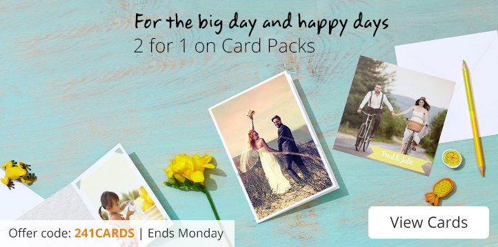 2 for 1 Photo Cards