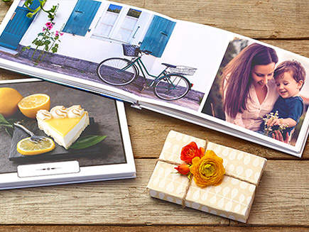 Photobooks with panoramic photos