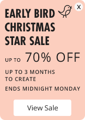 Early Bird Star Sale