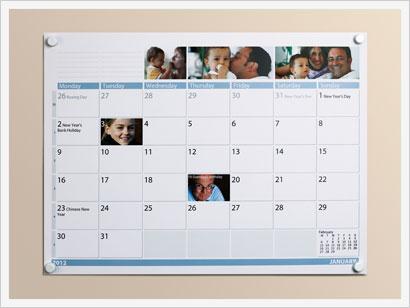 Family Calendar - PhotoBox