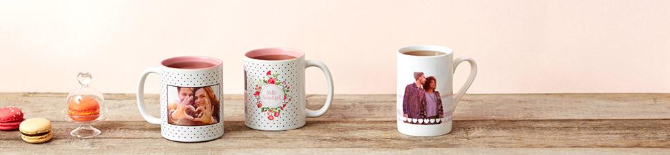Mugs et tasses personnalisés avec photo