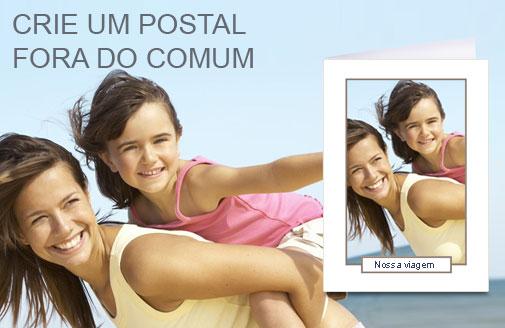 Descubra  os nossos cartões personalizados e os nossos cartões postais