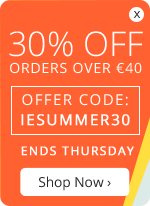 30% OFF orders over €40