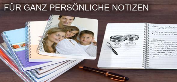 Foto Notizbuch