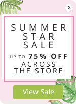 Summer Star Sale – Up to 75% OFF across the store