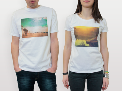 Personalised T-Shirts with Printed Photo - PhotoBox