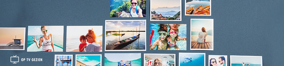 Fotoafdrukken in verschillende formaten