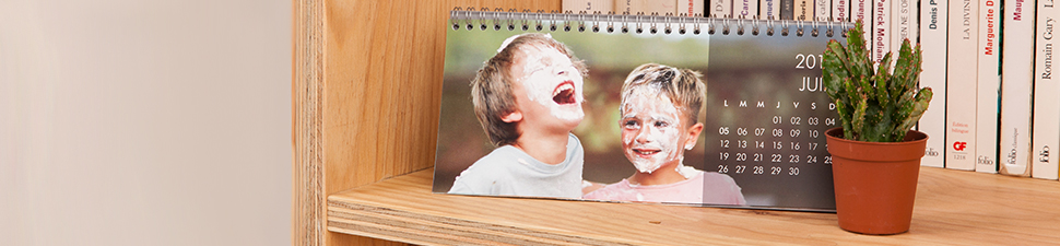 Personalised calendars, photo diaries and desk calendars