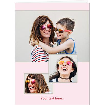 Portrait pink trio