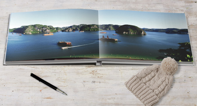 Large Square Lay Flat Photo Book