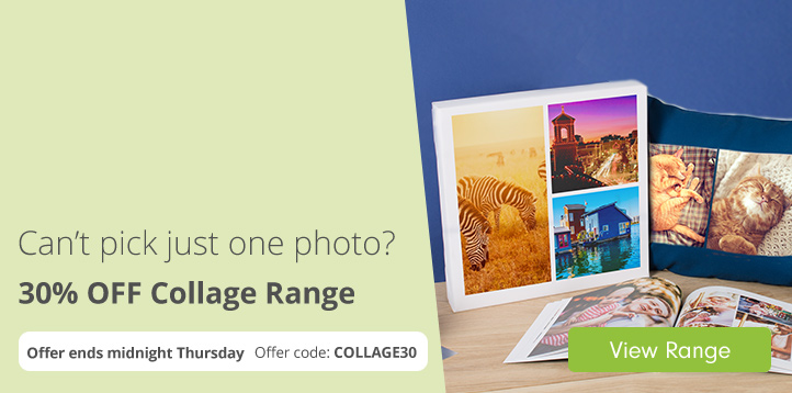 30% off Collage Range