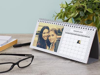 Calendario da tavolo semplice photobox