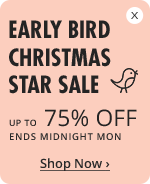 Buy today and save up to 75% Off Your Christmas Gifts