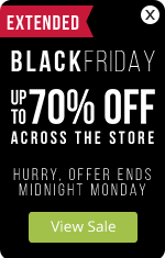 Black Friday Sale Extended - Up to 70% OFF across the store